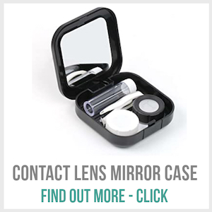 Contact Lens Mirror Case - CLICK